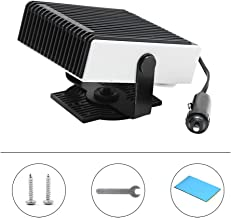 12V 150W Universal Portable Auto Car Heater, 2 in 1 Powerful Car Heater Cooling Fan, Windshield Defogger Defroster, Plugs into Cigarette Lighter