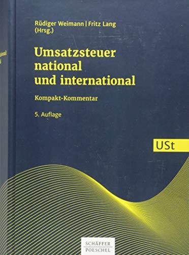 Umsatzsteuer national und international: Kompakt-Kommentar