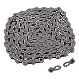 Cadena de la bicicleta, la cadena de la bici del camino de la montaña MAGT universal 9/27 velocidad de la bicicleta de la cadena mágica de la hebilla del camino de ciclo de la bici de accesorios de bi