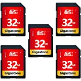 Best SD Cards - Gigastone 32GB 5 Pack SD Card UHS-I U1 Review