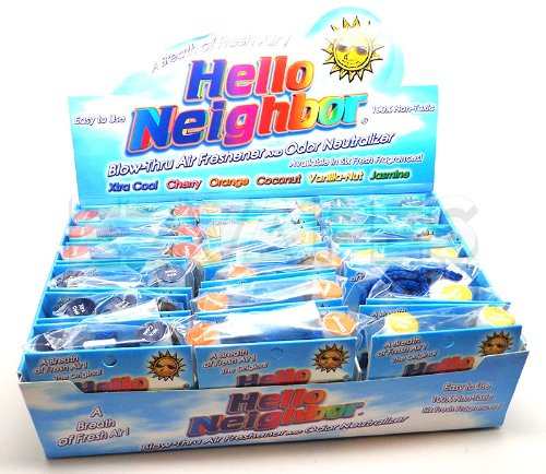 Hello Neighbor Personal Air Freshener and Odor Neutralizer (Xtra Cool)