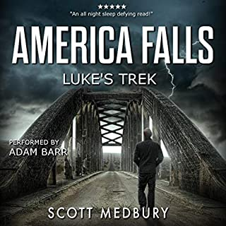 Luke's Trek audiobook cover art