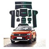 CDEFG pour V W T-ROC Accessoires, TROC 2018 2019 Tapis, Auto Tapis Anti-poussière...