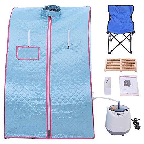 Warmiehomy Portable Sauna Tent With Chair, 2L Sauna Portable Pot auna Cabin...