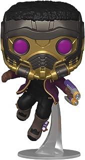 Funko Pop! Marvel: ¿Qué pasa si? - T'Challa Star-Lord