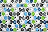 Jersey Klee byGraziela grau/bunt | 1,55 Meter breit | wird