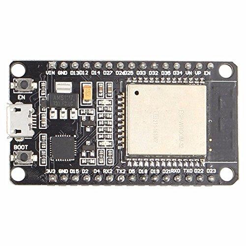Placa de Desarrollo ESP-32 WiFi + Bluetooth 2-en-1 de Baja Potencia de CPU de Doble núcleo ESP32 ESP-32S