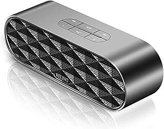 KJRJLY Bluetooth Speaker, Laptop Audio Subwoofer Multimedia Desktop Small Speaker Mini Usb Home Impact Waterproof Battery Life Sound Quality (Color : Black)