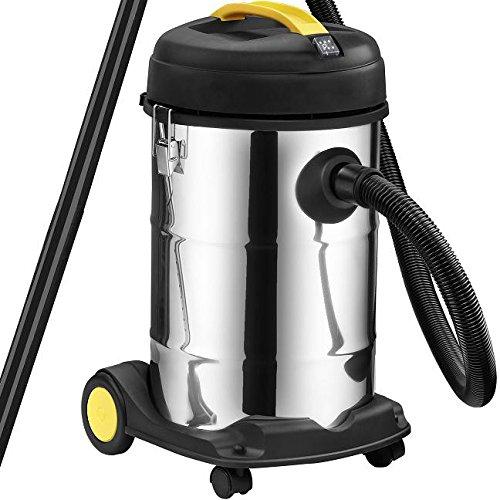 Syntrox Germany 2000 Watt 30 liter roestvrij staal vijverzuiger slibzuiger slibstofzuiger