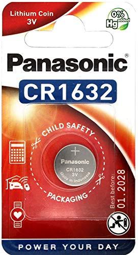 Panasonic CR1632 Lithium Knopfzellen Batterie