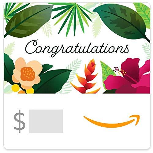 Amazon eGift Card - Congrats (Floral)