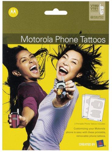 Motorola Phone Tattoos für V190