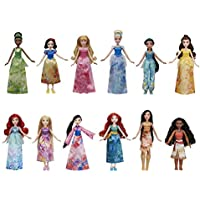 12-Pack Disney Princess Royal Collection Dolls