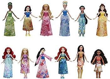 12-Pack Disney Princess Royal Collection Dolls