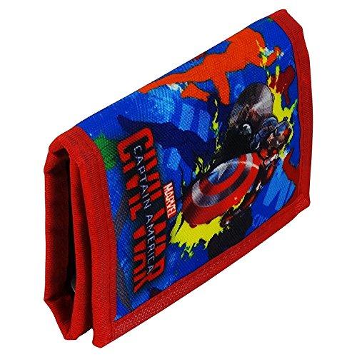 Marvel Avengers Captain America Civil War Geldtasche Geldbörsen Geldbeutel