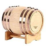 Customized White Oak Aging Barrel, Premium Charred Oak Aging Barrel, 3 Liters/5 Liters/10