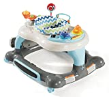 Storkcraft 3-in-1 Activity Walker and Rocker with Jumping Board and Feeding Tray, Interactive Walker with Toy Tray...