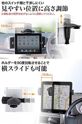 サンワサプライ『iPad・タブレット車載ホルダー(200-CAR010)』