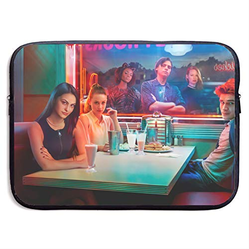 Riverdale Laptop Sleeve Case Protective Soft Padded Zipper Cover Carrying Computer Bag Laptop Sleeve Bag Water Repellent Vertical Protective Case 15 Inch