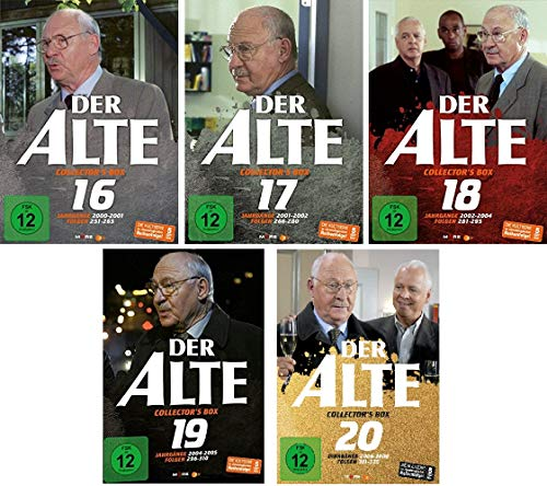 Der Alte - Collector´s Box Volume 16-20 (Folgen 251-325) im Set - Deutsche Originalware [25 DVDs]