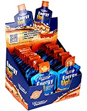 Energy Up Gel Cafeína Sabor Naranja. Con plus de sodio. Energía inmediata