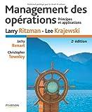 Management Des Opérations - Principes Et Applications