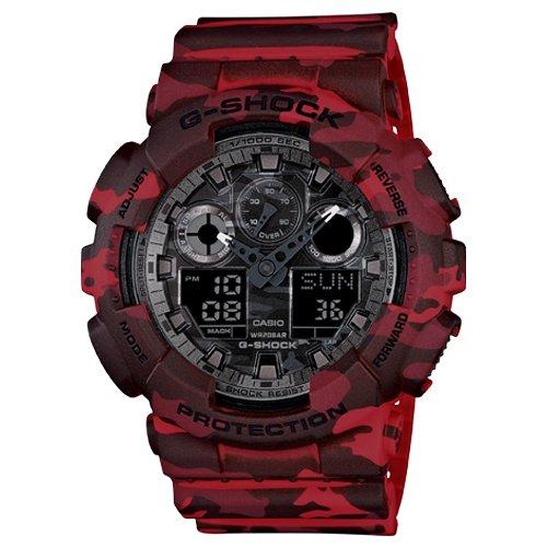 Casio G-Shock Analog-Digital Grey Dial Men's Watch