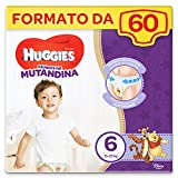 Huggies Lot de 60 couches Taille 6 (15-25 kg) (2 x 30)
