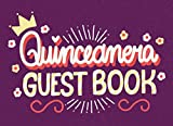 Quinceanera guest book: Quince Party Keepsake Memory Book with Space for message