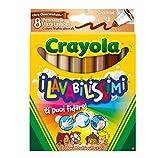 Crayola 58-8336 - I Lavabilissimi 8 Rotuladores, Punta Maxi, Colores Multiculturales , Modelos/colores Surtidos, 1 Unidad