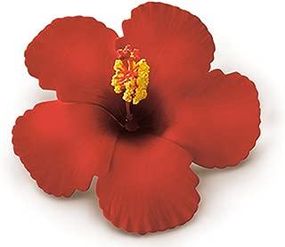 Hibiscus Clip Foam Flower - Red
