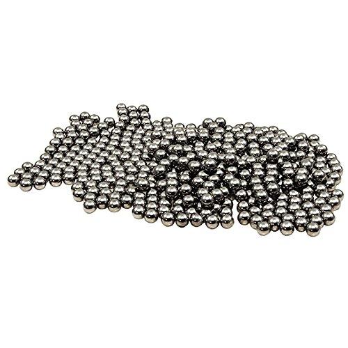 Confezione composta da 250 pezzi di pallini marca Shop SoftAir di Proprietà della ditta Area Shopping Srl (marchio proprietario) Pallini in alluminio rivestiti in acciaio di alta qualità con diametro da 6 mm. I pallini sono sottoposti ad un processo ...