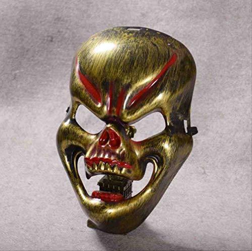 ZGWS Halloween Nieuwe Brand Kirin Masker Horror Full-face Ghost Head Masker Fangs Skull Street Dans Masker Mannen En Vrouwen Maak Vreemde Gezichten