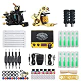 Dragonhawk Starter Complete Tattoo Kit Liner Shader Coils Tattoo...