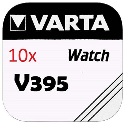 Varta Knopfzellen - V395 Lot de 10