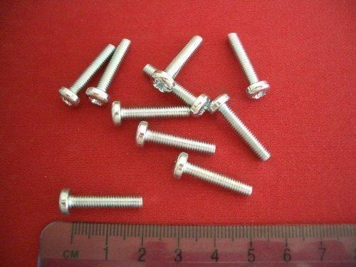 D2D Vis /à t/ête plate M6 x 45 mm avec six pans creux ISO 7380-1 en acier inoxydable A2 V2A vis /à t/ête cylindrique PU: 10 pi/èces