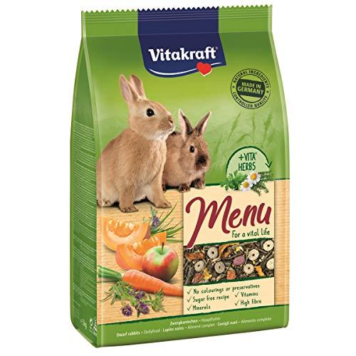 Vitakraft Hauptfutter Zwergkaninchen Menü, 5kg