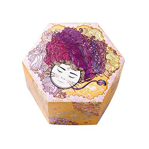 JIESD-Z - Caja de regalo de explosión fluorescente con 12 constelaciones para manualidades, álbumes de fotos, sorpresas, álbumes de recortes, regalo para cumpleaños, día de San Valentín, compromiso, aniversario de boda, color Leo