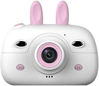 Kids Toy Camera Cámara digital for niños Cámara for niños Fotografía digital Cámara SLR pequeña Cámara fotográfica divertida de dibujos animados Cámara de 24 pulgadas con lente doble for niños