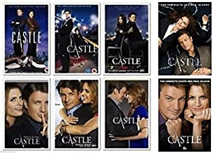 Castle : Complete Collection, DVD (Series Seasons 1-8, 1,2,3,4,5,6,7,8 Bundle) USA Fromat Region 1 Pre-order