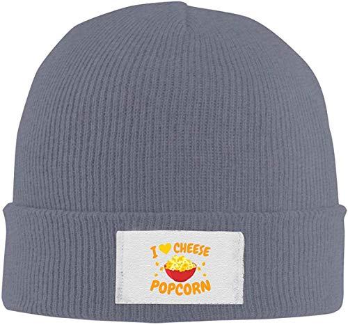 Sombrero tipo gorro de palomitas «Ich Liebe Käse Popcorn Slouchy», unisex, invierno