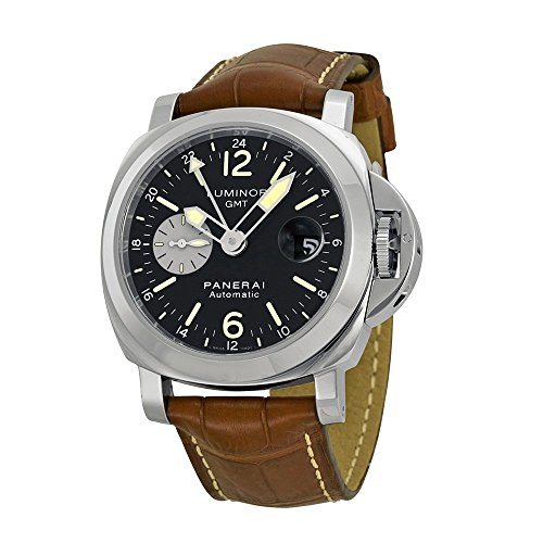 Panerai Men's PAM00088 Luminor GMT Black Dial...
