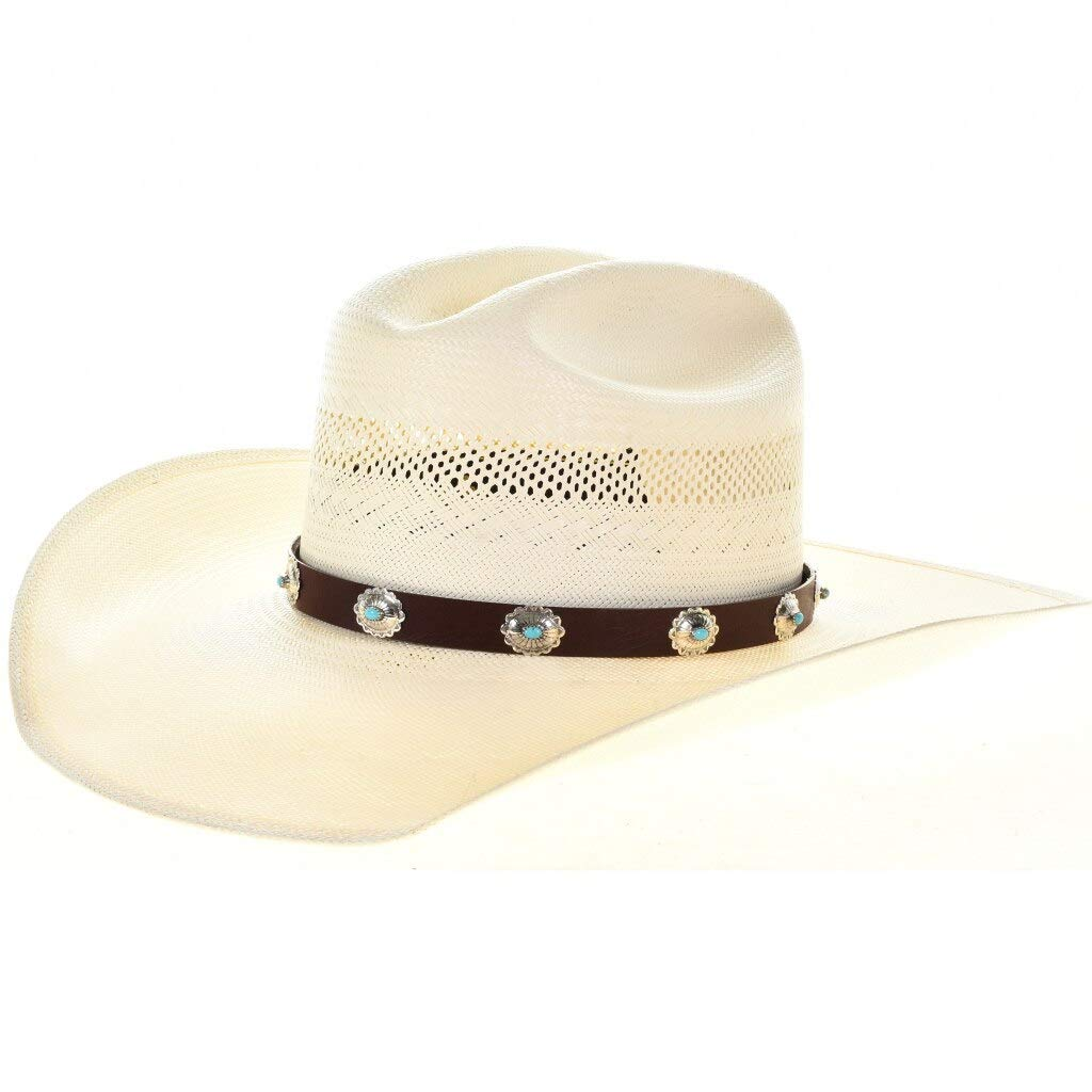 Turquoise Sterling Some reservation Concho Hatband Navajo 00 Max 55% OFF Accessory Adjustable