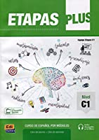 Etapas Plus C1: Student and Exercises Book with free coded access to the ELETeca: Curso de Espanol por Modulos