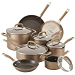 Circulon-Premier-Professional-stainless-steal-13-Piece-Brown