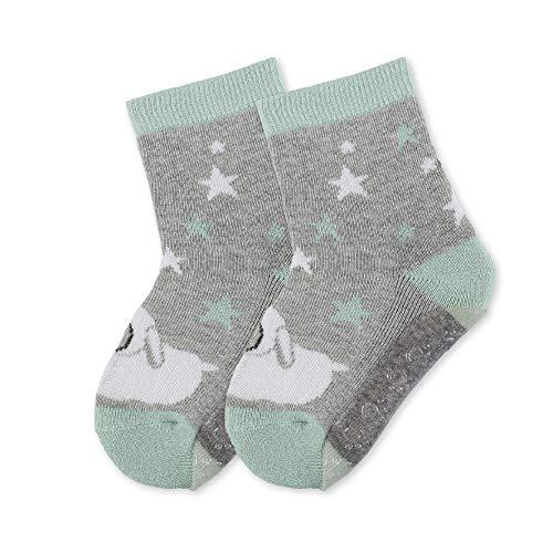Sterntaler Jungen Fli Fli Air Stanley Socken, Silber Mel., 27-28 EU