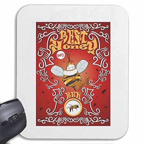 Reifen-Markt Mousepad (Mauspad) Best Honey Biene WESPE Hummel MÜCKENSTICH BIENENSTICH Insekten Biene WESPE Hummel MÜCKENSTICH BIENENSTICH Insekten für ihren Laptop, Notebook oder Internet PC (mit Win