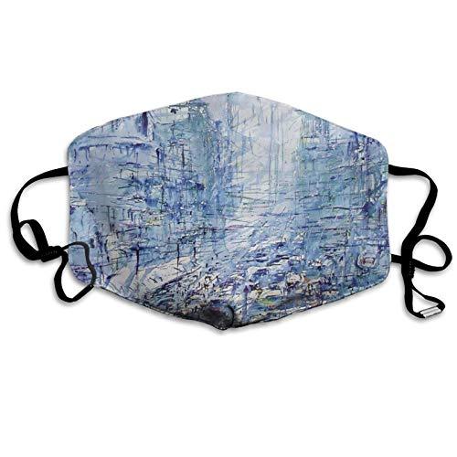 Painting Art Unisex Gesichtsschal Einstellbar Staubdicht Mundschutz Winddicht Face Bandanas Atmungsaktiv Gesichtsbedeckung