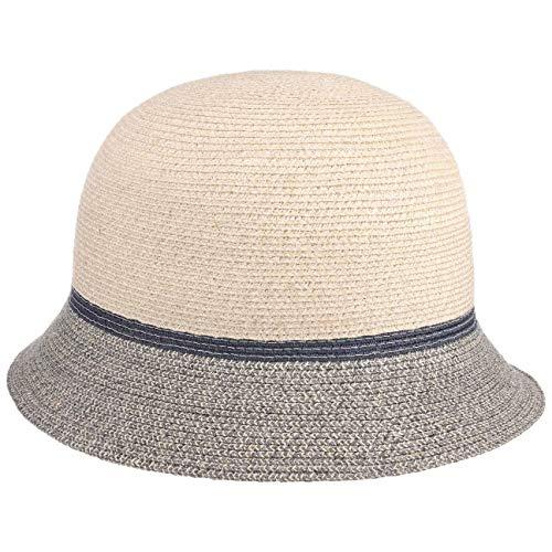 Mayser Chapeau Cloche Nannia Protection UV Femme - Made in The EU pour Le Jardin de Soleil Plage Printemps-été - Taille Unique Gris-moucheté