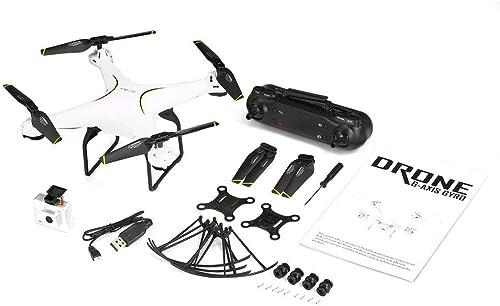 GreatWall SG600 RC Drohne 2.4G FPV Quadcopter 2MP WiFi Weißinkelkamera H  halten Weiß